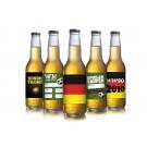 Eigenes Bier mit eigenen Etiketten